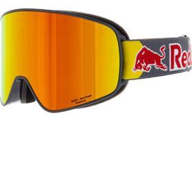 Red Bull SPECT Rush Goggles, grey-red snow